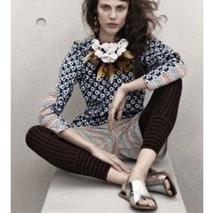 Marni for H&M silver sandals